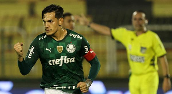 Gustavo Gómez deixou tudo igual em Volta Redonda. Foto: César Greco/Agência Palmeiras