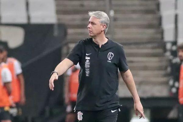 """Ex-treinador do Corinthians disse que a conversa com o Peixe """"não foi legal"""". Foto: Rodrigo Cica/Ag Corinthians"""