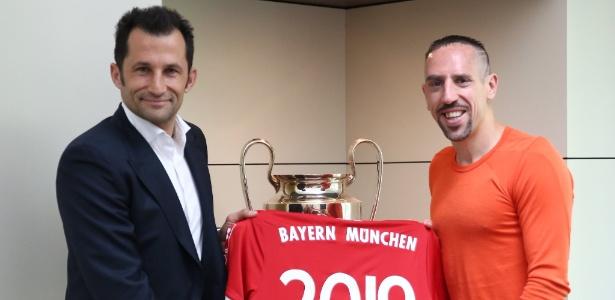 Ao todo, Ribéry marcou 80 gols em 247 partidas do Campeonato Alemão