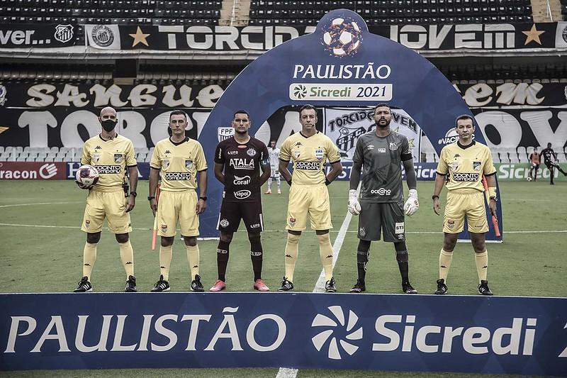 Jogo entre Santos e Ponte Preta foi marcado e desmarcado quatro vezes pela FPF. Foto: Ivan Storti/Santos FC