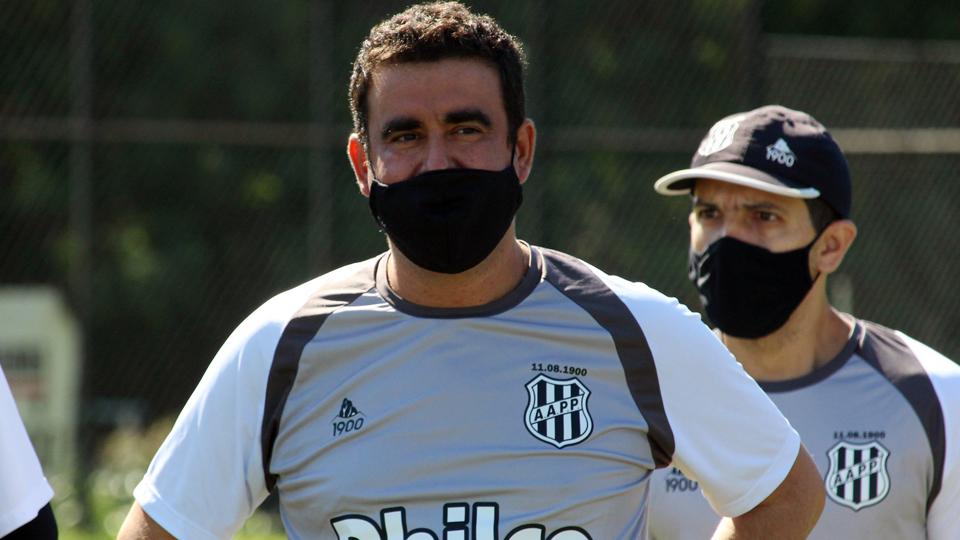 Fábio Moreno retomou suas atividades no clube campineiro. Foto: Diego Almeida/Ponte Preta