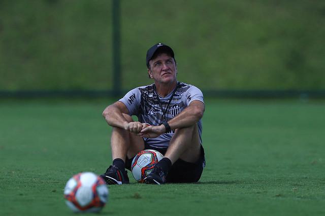 Cuca começou bem seu trabalho no Atlético. Foto: Pedro Souza / Agência Galo / Clube Atlético Mineiro