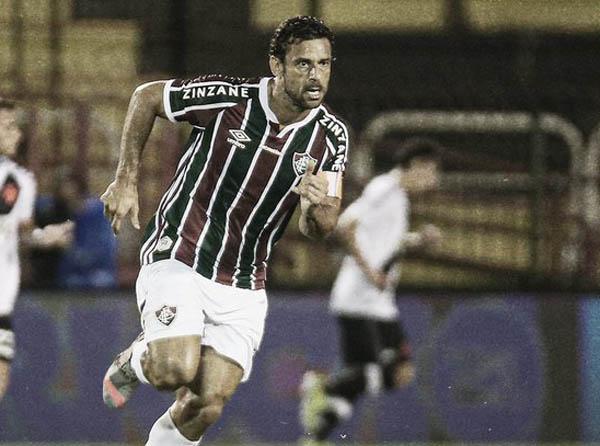 Atacante marcou no começo da etapa final. Foto: Lucas Merçon/Fluminense