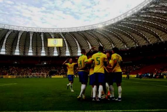 Pouco interesse no Mundial feminino e público reduzido no Beira-Rio marcam o domingo de nossas seleções