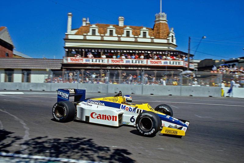 Williams do finlandês resistiu ao calor em Adelaide. Foto: Reprodução/Twitter