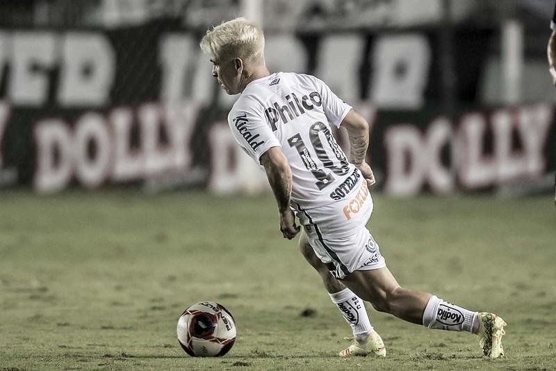 Camisa 10 do Peixe entrou no radar do clube gaúcho. Foto: Ivan Storti/Santos FC