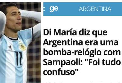 """Profissional argentino está irritado com a torcida: """"Se não tem paciência, terminamos por aqui"""""""