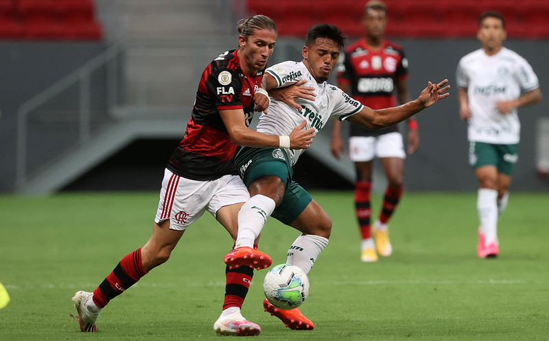 Verdão e Mengo tem jogo marcado para o próximo domingo (11), no estado Mané Garrincha. Foto: Cesar Greco