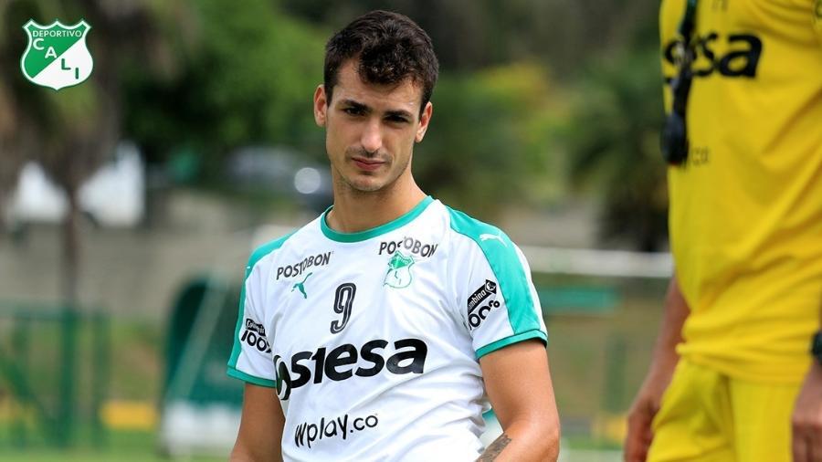 Juan Dinenno está emprestado ao Deportivo Cali. Foto: Deportivo Cali/Reprodução
