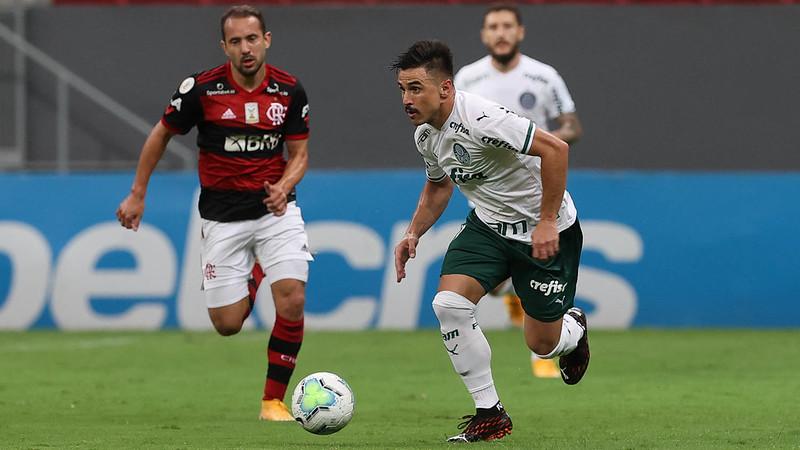 Verdão e Mengão se enfrentam no domingo (11), pela Supercopa do Brasil. Foto: Cesar Greco