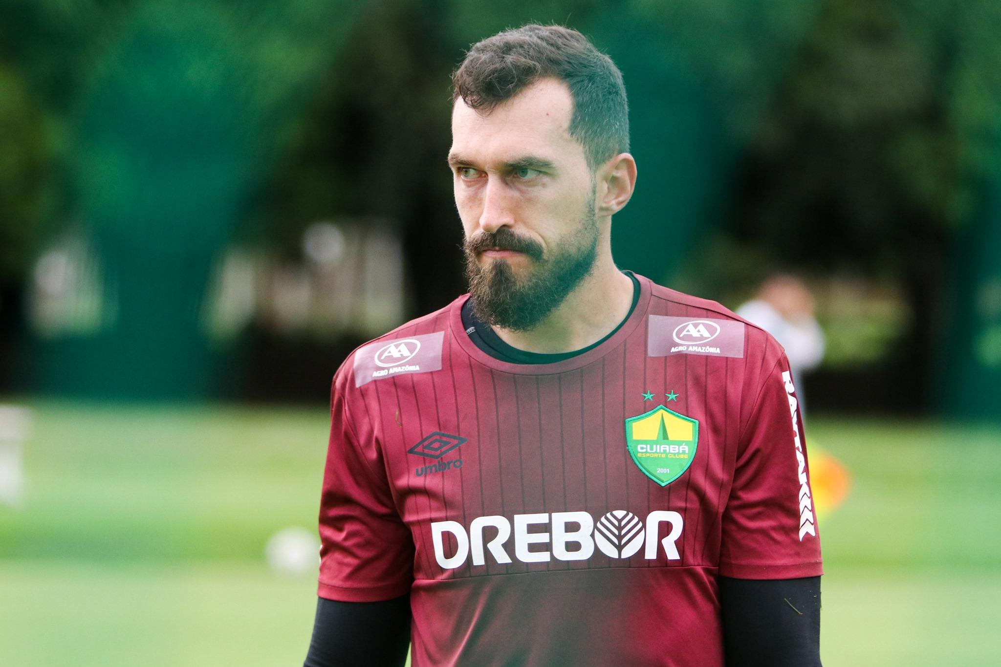 Ex-goleiro do Timão disputará o Brasileiro pelo Cuiabá. Foto: Facebook/Reprodução