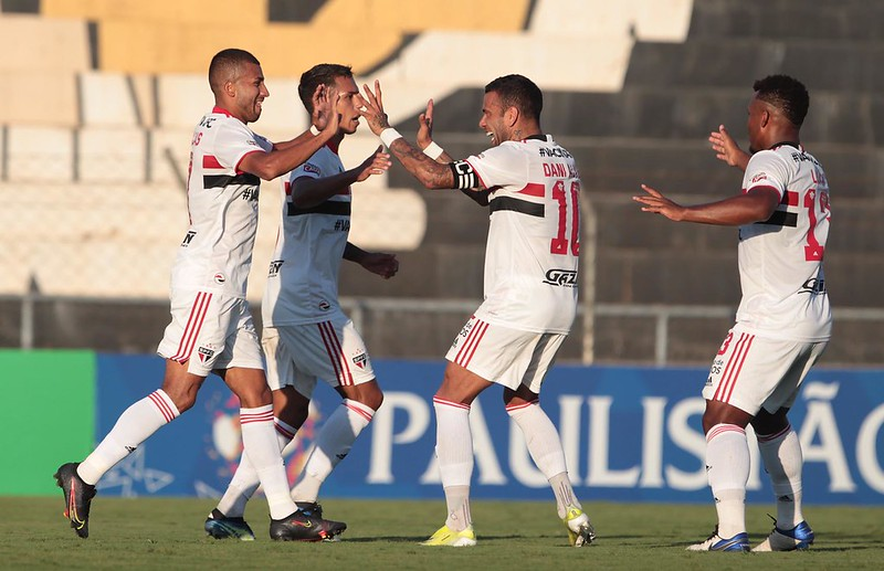 Tricolor vem de derrota para o Novorizontino no campeonato. Foto: Rubens Chiri/saopaulofc.net