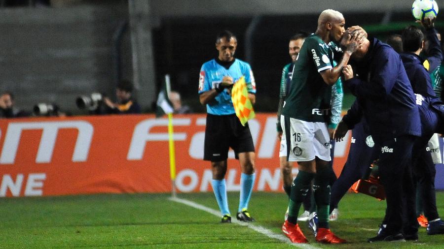 Palmeiras pode chegar a oito vitórias e um empate nos primeiros nove jogos. Foto: Alan Morici/AGIF