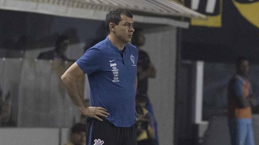 Após jogo ruim, Carille aposta em semana de treinos para ajustar Corinthians. Foto: Daniel Augusto Jr/Ag. Corinthians