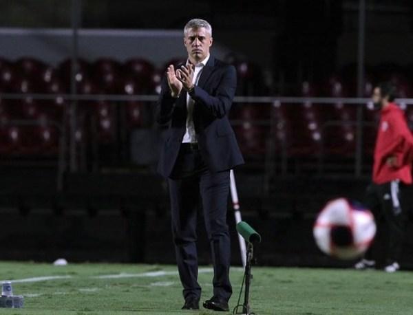 Hernan Crespo, técnico do São Paulo. Foto: Rubens Chiri/SPFC