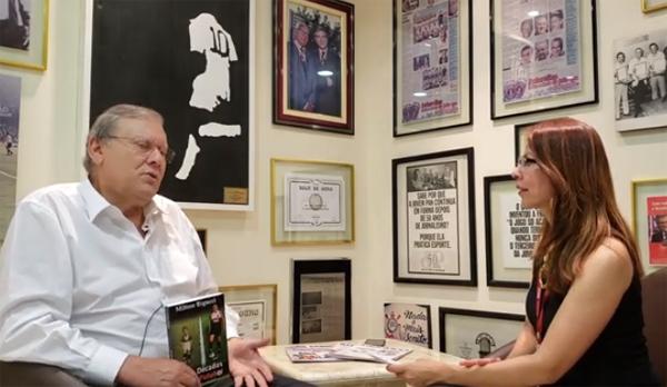 Jornalista falou sobre futebol e curiosidades de sua carreira. Foto: Reprodução