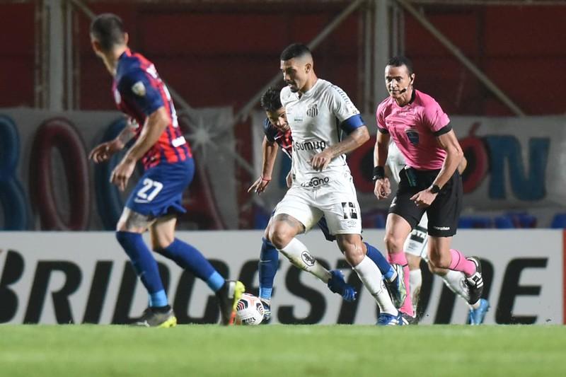 Peixe venceu o jogo de ida por 3 a 1. Foto: Ivan Storti/Santos FC