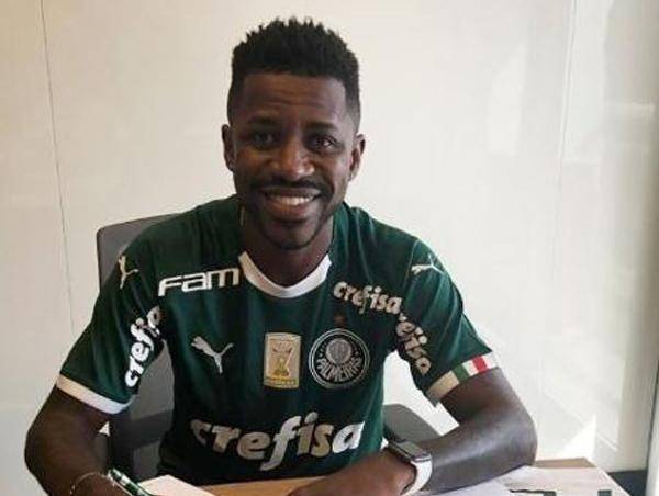 Ramires acerta vínculo com o Palmeiras. Foto: Divulgação