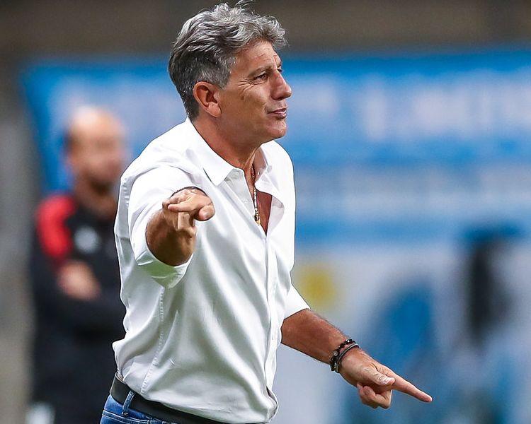 Dirigente gremista disse que o trabalho do treinador será reavaliado. Foto: Lucas Uebel/Grêmio FBPA