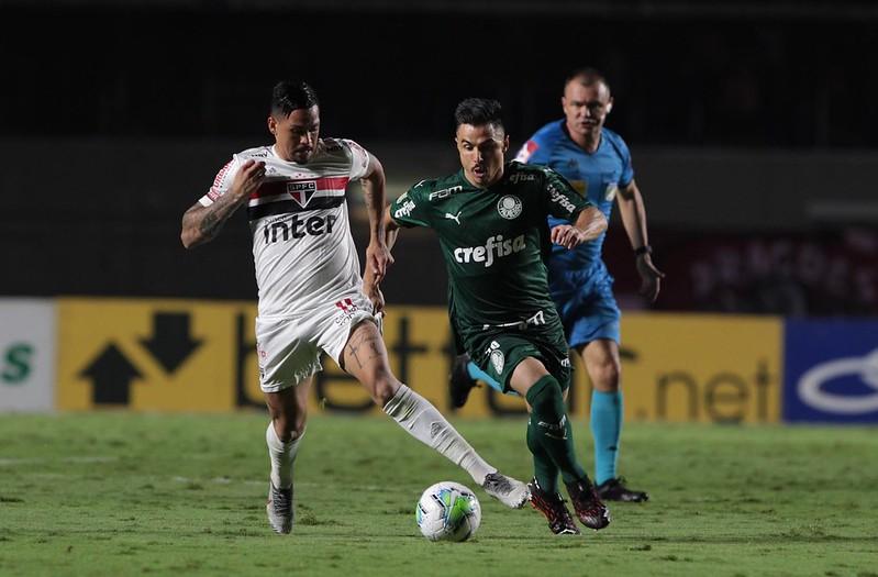 Verdão e Tricolor se enfrentam no Allianz Parque. Foto: Rubens Chiri / saopaulofc.net
