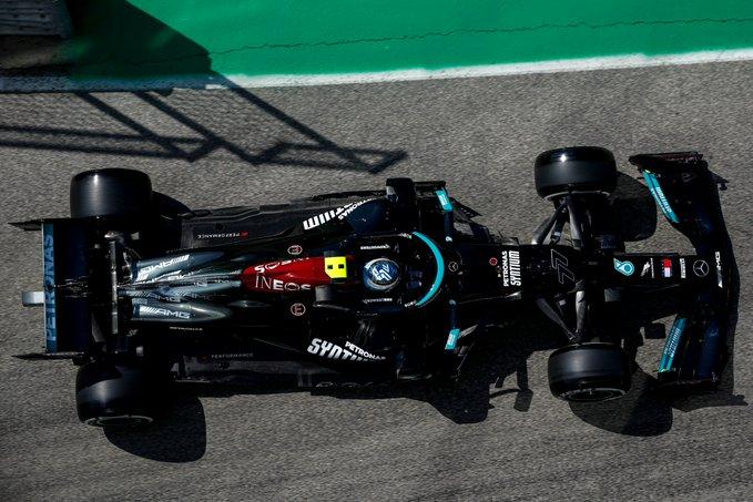 Piloto da Mercedes foi o melhor nas duas sessões. Foto: Mercedes-AMG F1