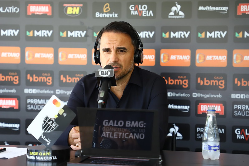 Dirigente atleticano afirmou que o clube precisa negociar jogadores para fazer receita. Foto> Pedro Souza/Atletico
