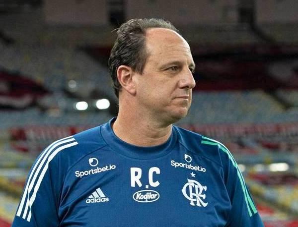 Rogério Ceni, técnico do Flamengo. Foto: Divulgação/Flamengo