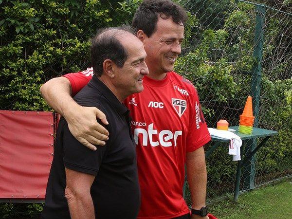 Coordenador de futebol do Tricolor elogiou o bom trabalho deixado pelo ex-treinador da equipe. Foto: Rubens Chiri/soapulofc.net