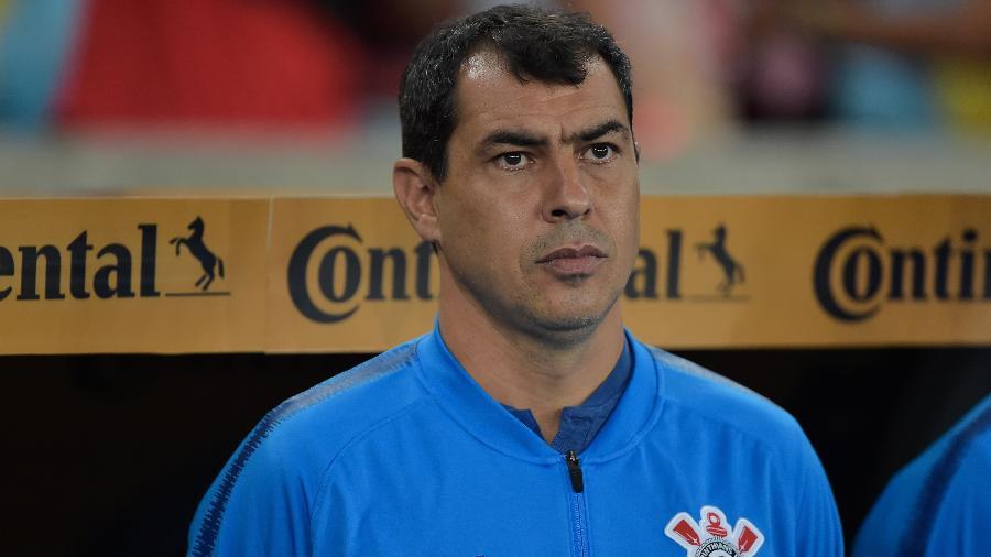 Corinthians não foi comunicado por Carille sobre interesse do Al Hilal. Foto: Thiago Ribeiro/AGIF