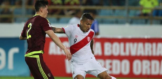 Partida entre Venezuela e Peru já foi sinônimo de jogo fraco, mas não é mais assim. Foto: AP