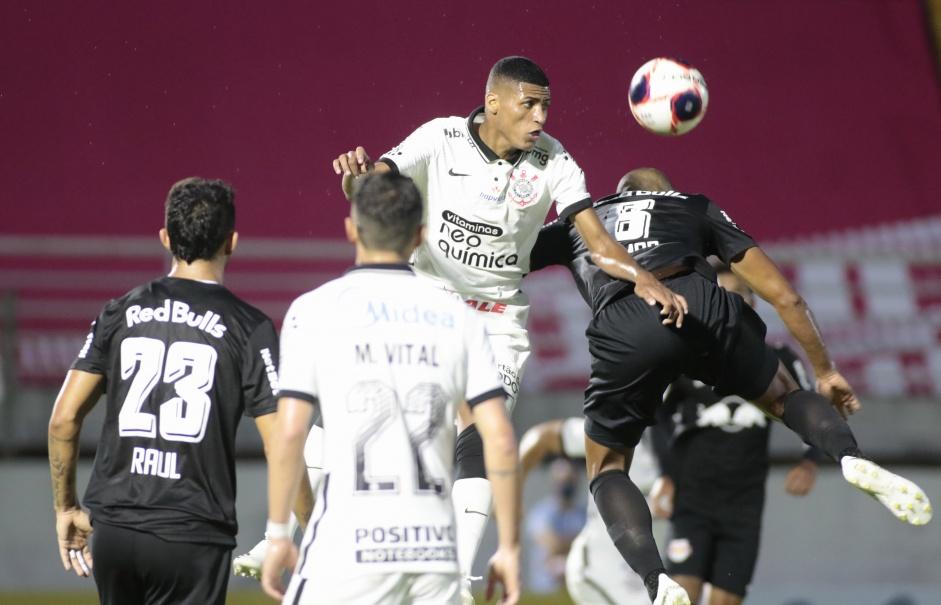 Timão não terá o atacante Rodrigo Varanda, lesionado. Foto: Rodrigo Coca/Ag Corinthians