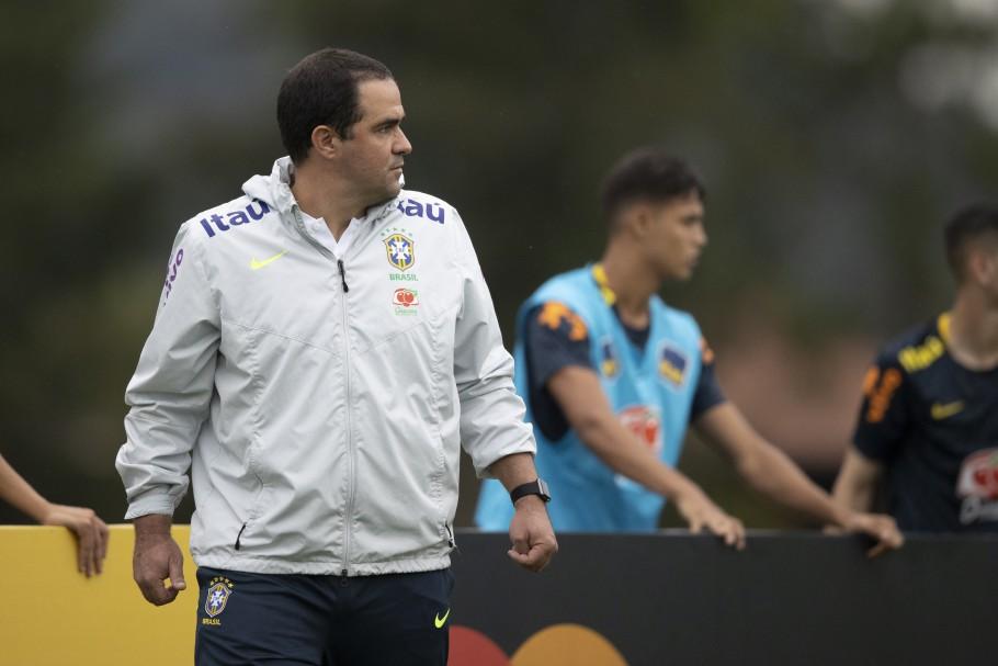 Jardine destacou a dificuldade do torneio de futebol das Olimpíadas. Foto: Lucas Figueiredo/CBF