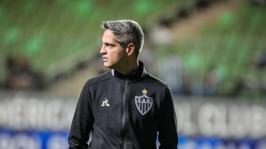 Rodrigo Santana, técnico do Atlético-MG. Foto: Bruno Cantini/Atlético-MG