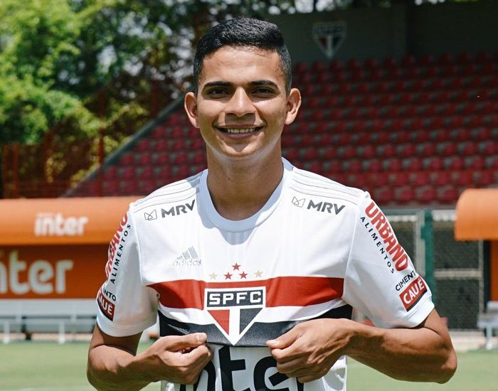 Bruno Rodrigues jogou apenas 36 minutos na temporada pelo Tricolor. Foto: Divulgação