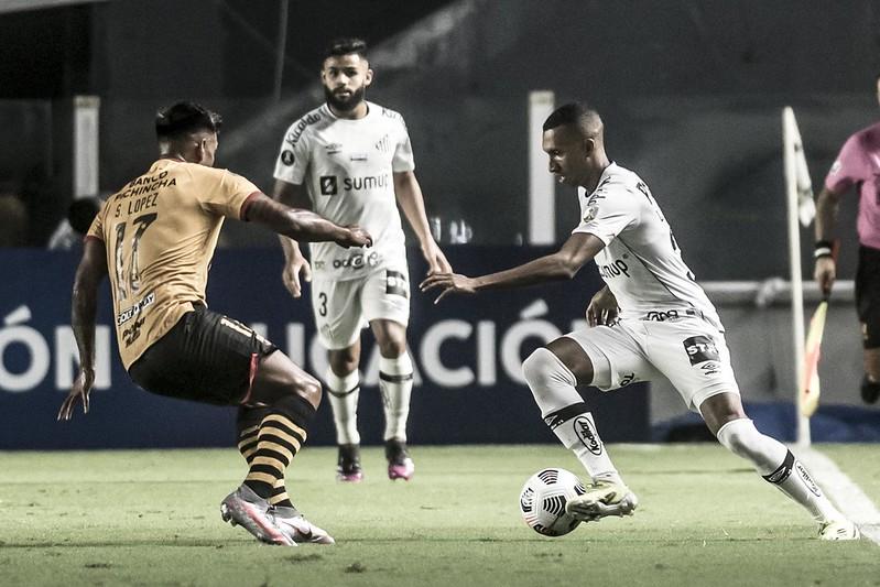 Peixe deve ter time misto em Novo Horizonte. Foto: Ivan Storti/Santos FC
