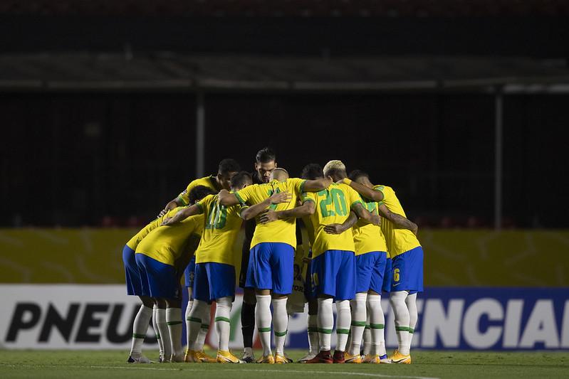 Seleção brasileira enfrentará Equador e Paraguai na volta das eliminatórias. Foto: Lucas Figueiredo/CBF
