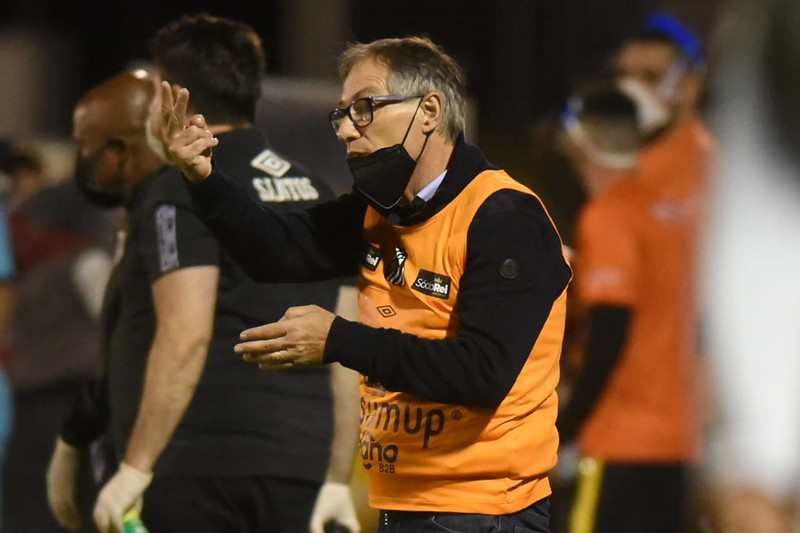 Treinador do Peixe pediu contratações para reforçar o elenco alvinegro. Foto: Ivan Storti/Santos FC