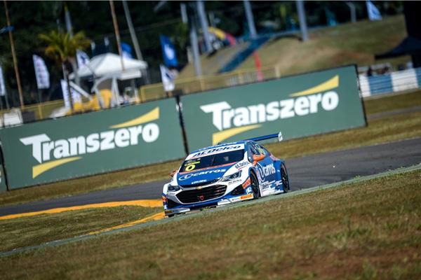 Pentacampeão mostrou potencial para disputar a pole. Foto: Divulgação/Stock Car