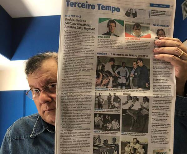 Milton Neves comanda a atração direto dos estúdios do Morumbi. Foto: Guilherme Cimati.