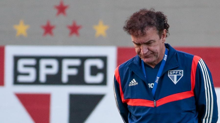 Cuca planeja calendário tricolor durante a Copa América, enquanto clube passa por reestruturação