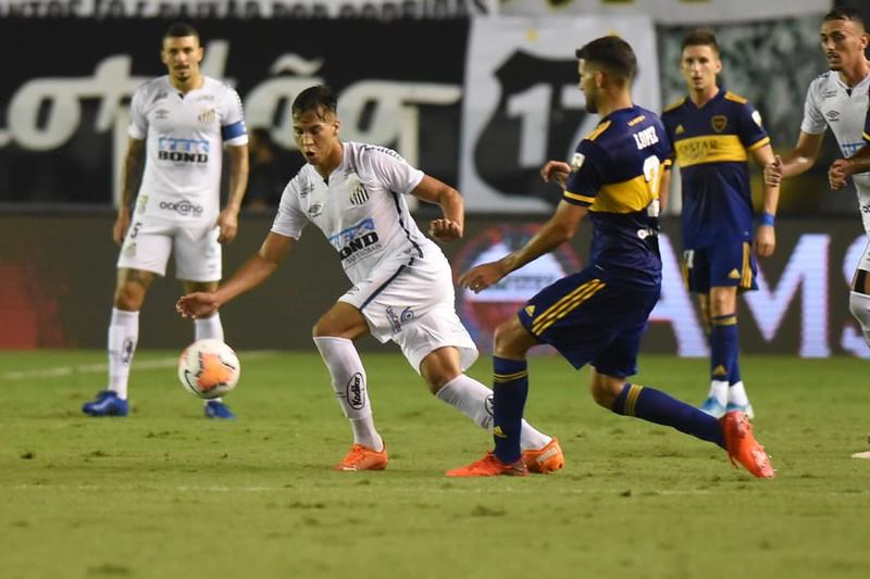 Atacante tem contrato com o Peixe até dezembro de 2021. Foto: Ivan Storti/Santos FC
