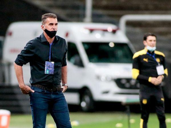Treinador afirmou que o Timão foi melhor que os uruguaios, mas não aproveitou as chances. Foto: Rodrigo Coca/Ag Corinthians