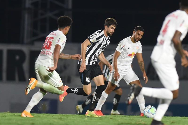Peixe não vence há quatro jogos. Foto: Ivan Storti/Santos FC