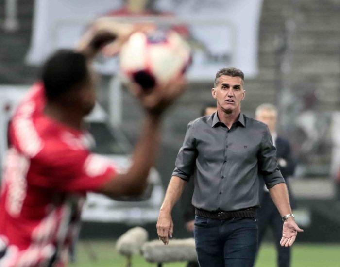 Treinador do Timão destacou o saldo positivo da equipe no Majestoso. Foto: Rodrigo Coca/Ag Corinthians