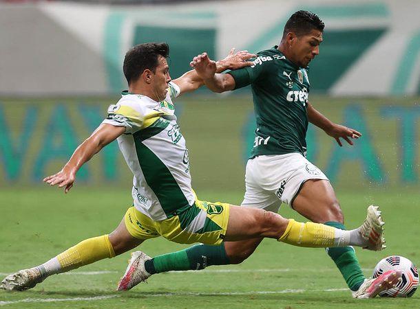 Verdão enfrentou e acabou derrotado pelos argentinos na decisão da Recopa Sul-Americana de 2021. Foto: Cesar Greco