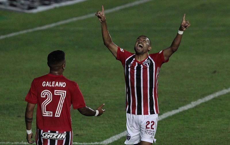 Rojas tem vínculo até 31 de maio com o Tricolor. Foto: Rubens Chiri/saopaulofc.net
