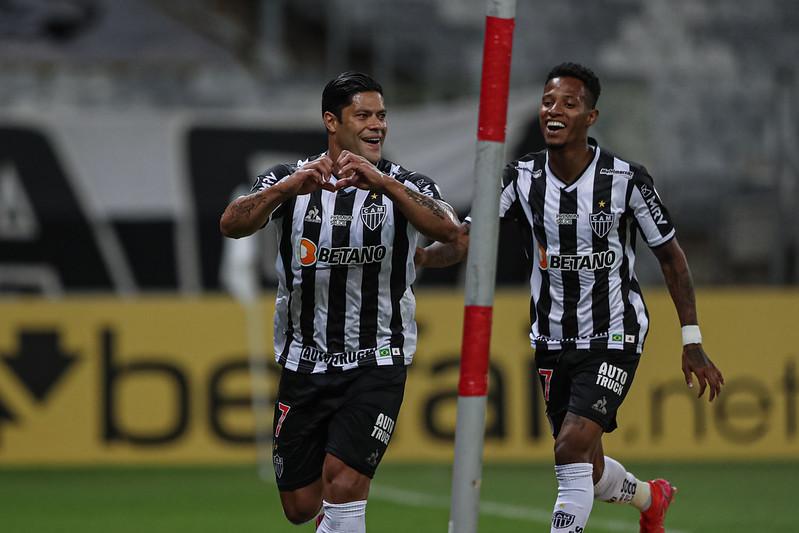 Camisa 7 do Galo marcou cinco gols nos últimos três jogos. Foto: Pedro Souza/Atlético