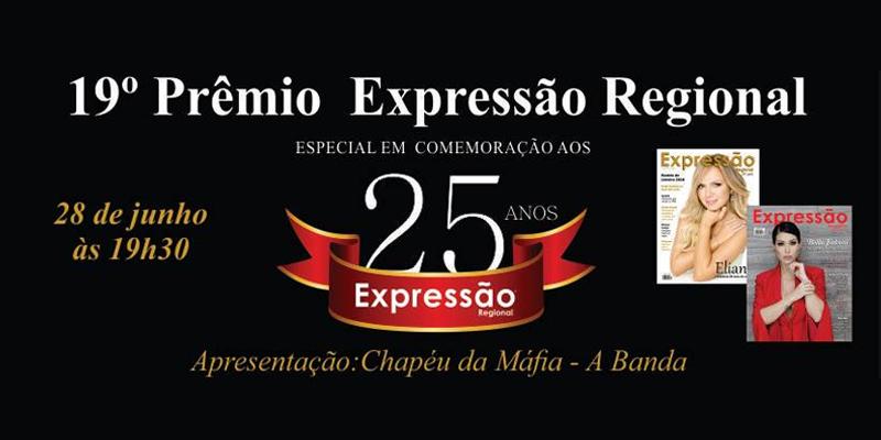 Criado no ano de 2000, pela Revista Expressão Regional, o Prêmio Expressão já se tornou tradição