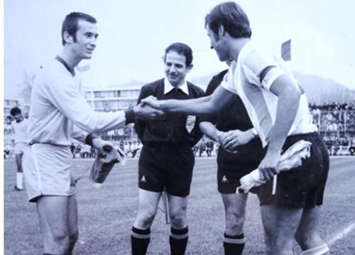 Seleção de Novos campeã do Torneio de Cannes em 1972