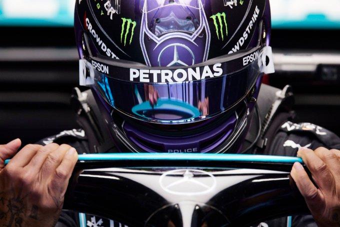 Britânico entra para a casa dos três dígitos. Foto: Mercedes-AMG Petronas F1